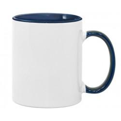 Чашка циліндр біла кольорова зсередини